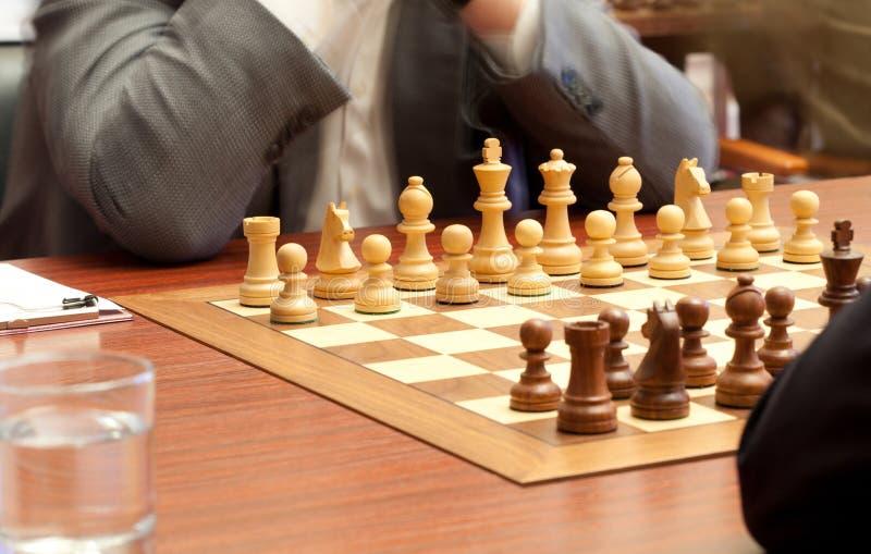 Tournoi d'échecs. photographie stock