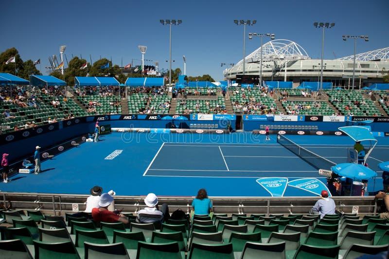 Tournoi ouvert de tennis d'Australien photographie stock