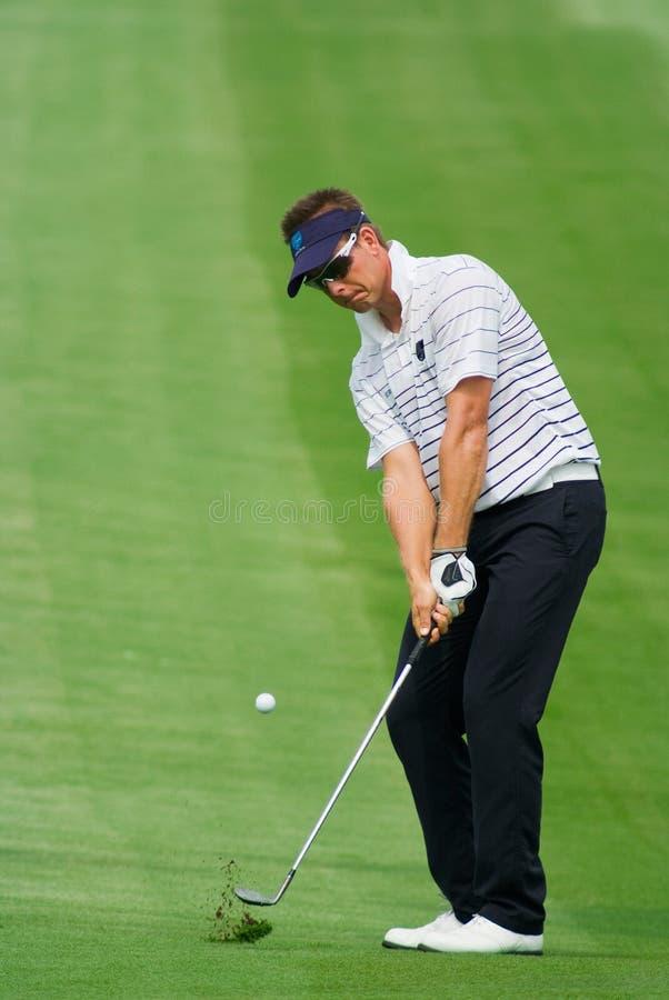 Tournoi royal de golf de trophée, Asie contre l'Europe 2010 images libres de droits