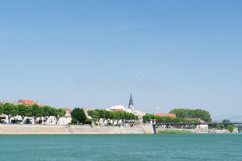 Tournon在法国 库存照片