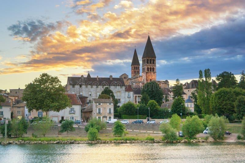Tournus - la Francia fotografia stock libera da diritti