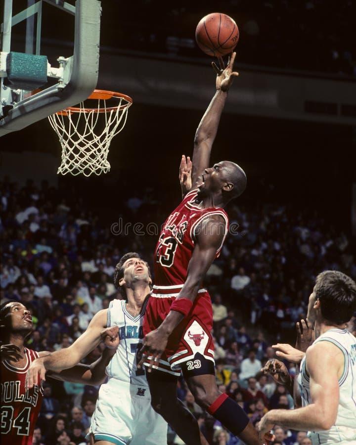 Touros de Michael Jordan Chicago foto de stock royalty free
