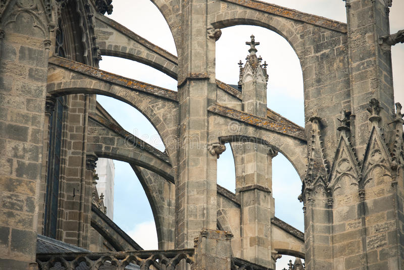 Download Tours Cathedral detail stock photo. Image of temple, france - 25942794