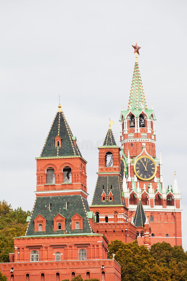 Tours de Moscou Kremlin photographie stock