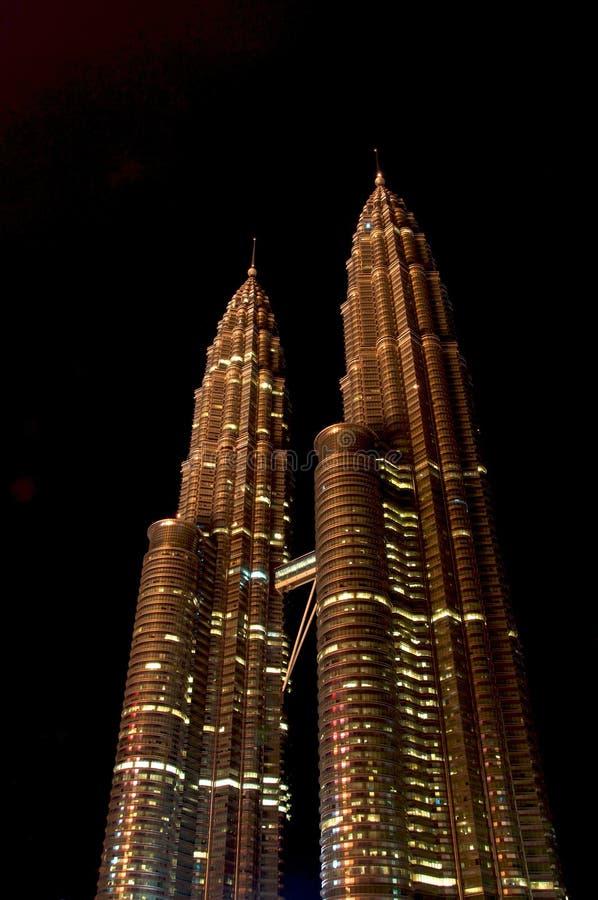 Tours de Petronas photo libre de droits