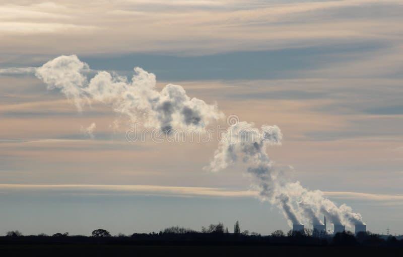 Tours de refroidissement de centrale de Ferrybridge Yorkshire photographie stock