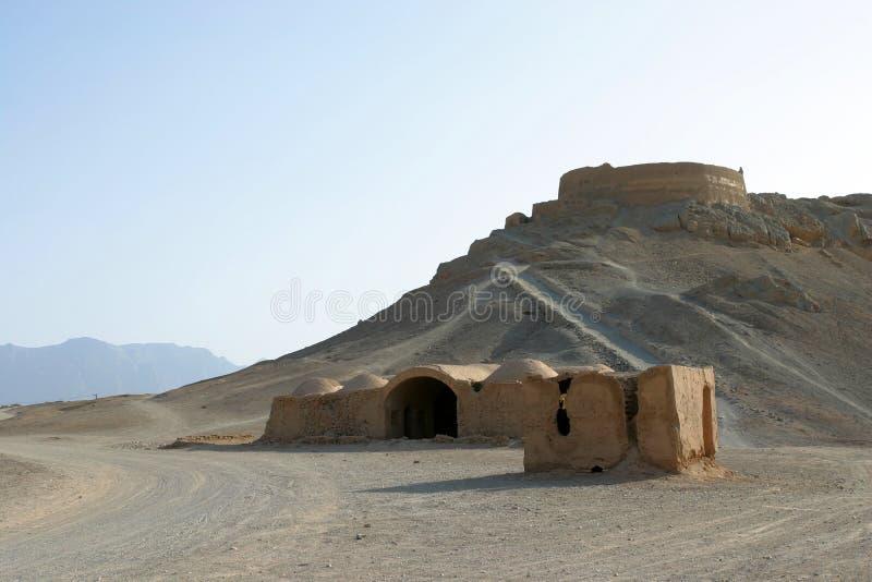 Tours de silence dans Yazd, Iran image stock