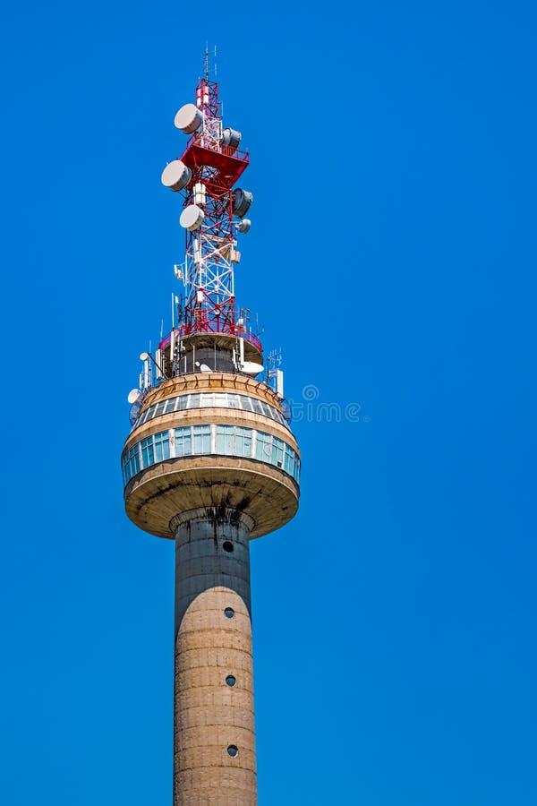 Tours de télécommunication photo libre de droits