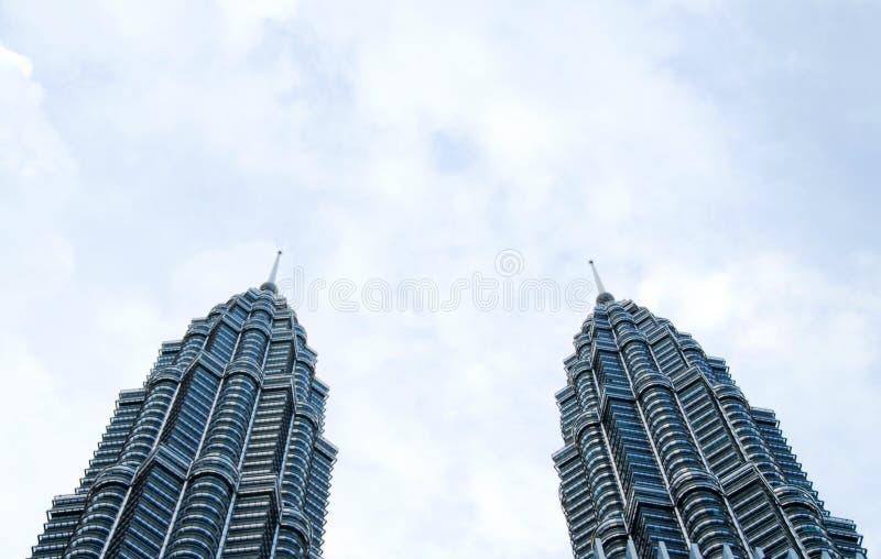 Tours jumelles photo libre de droits