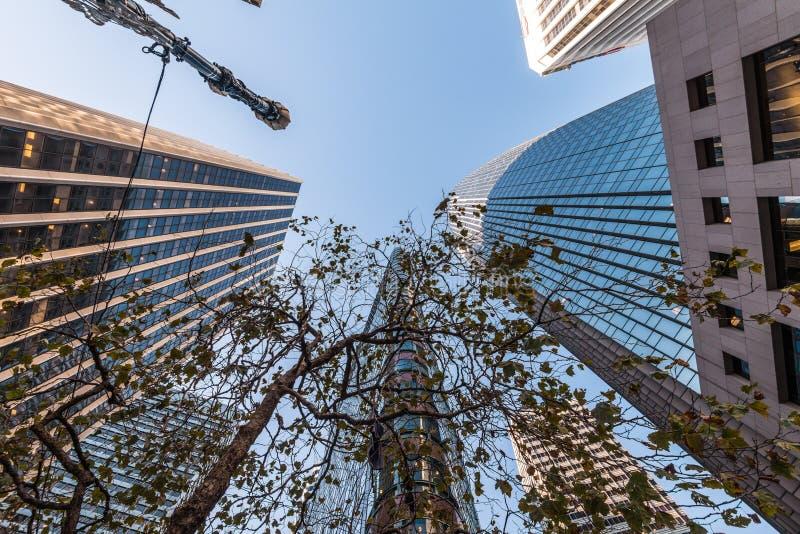 Tours modernes à San Francisco, Etats-Unis photos stock