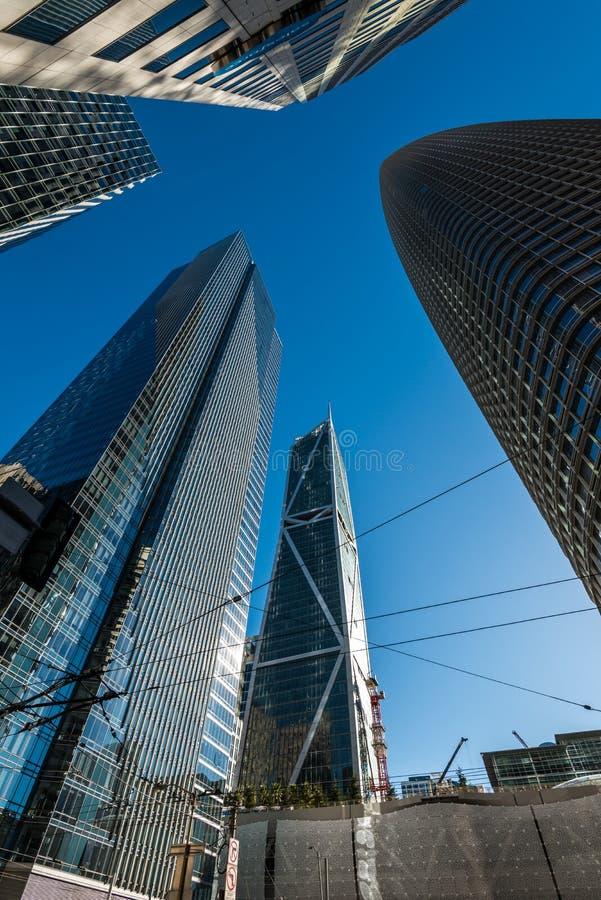 Tours modernes à San Francisco, Etats-Unis photos libres de droits