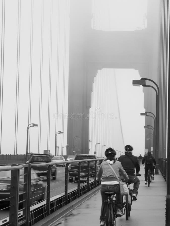 Tours romantiques de golden gate bridge photo stock