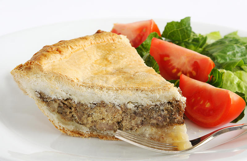 tourtiere fotografia royalty free