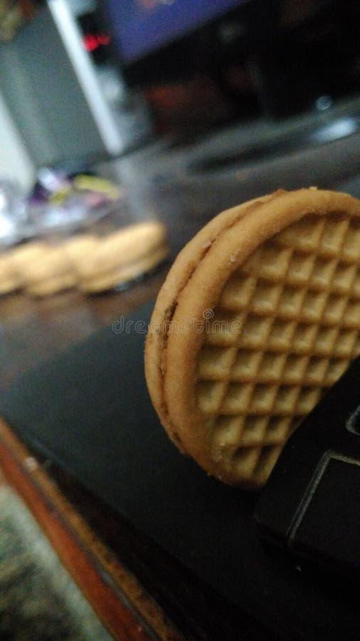 Tout au sujet des biscuits photos stock