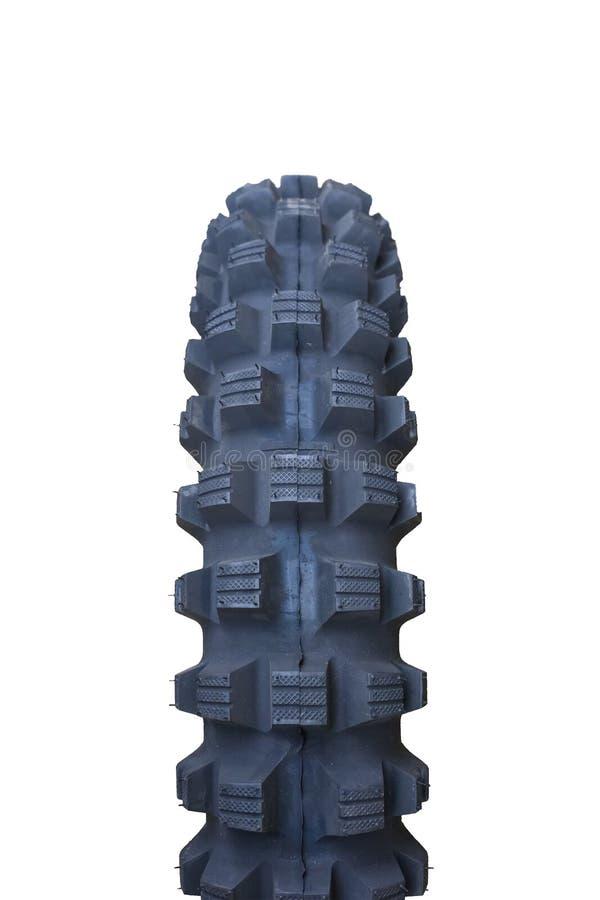 Tout le pneu de vélo de terrain photo libre de droits