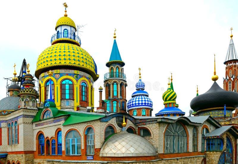tout le temple de religions image stock
