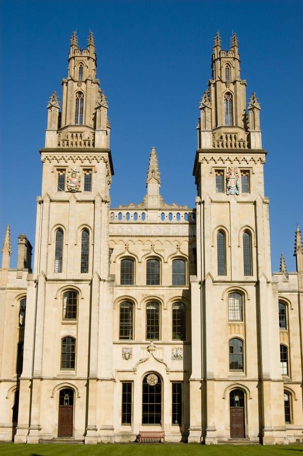 Toutes les âmes université, Oxford photo stock