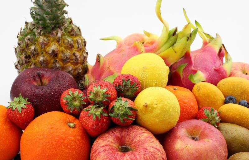 Toutes sortes de fruit image libre de droits