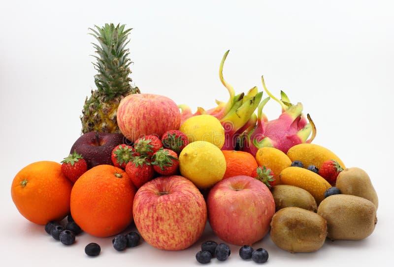 Toutes sortes de fruit photo stock
