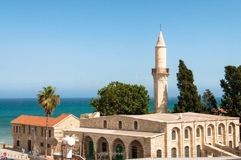 Touzla-Moschee (11. Jahrhundert) Larnaka zypern stockbilder