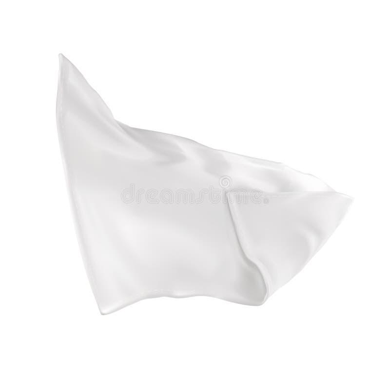 tovagliolo molto bianco illustrazione di stock