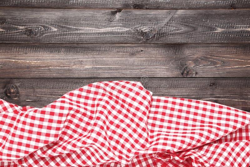 Tovagliolo rosso fotografia stock libera da diritti