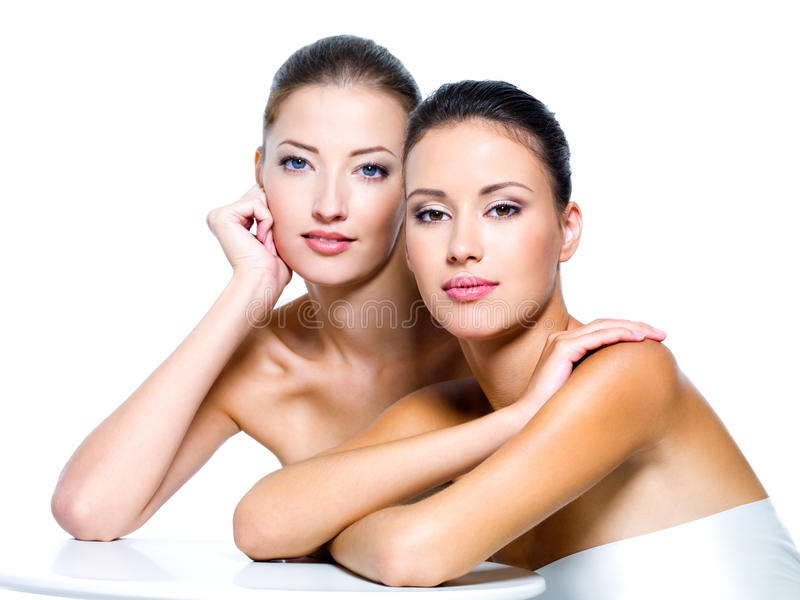 Download Tow Beautiful Women Royalty Free Stock Photo - Image: 16004175