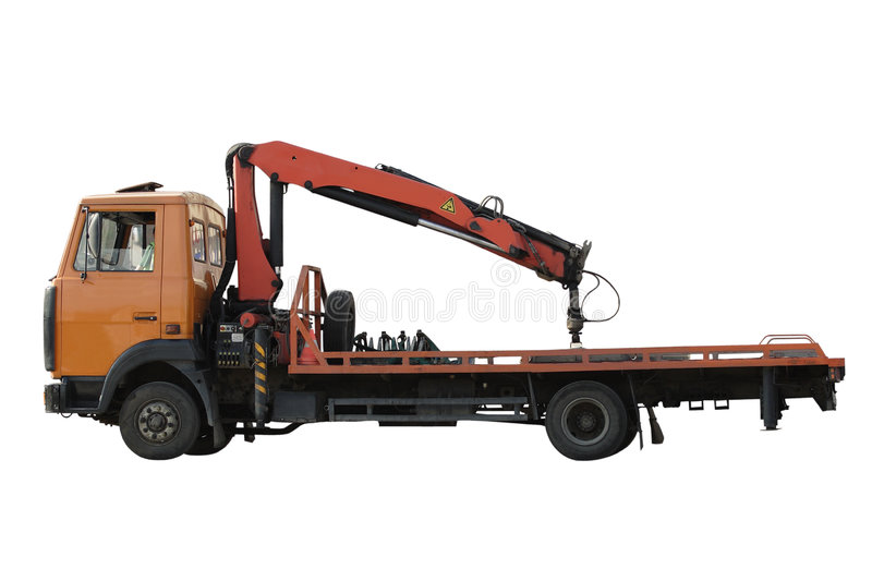 Tow car royalty free stock image