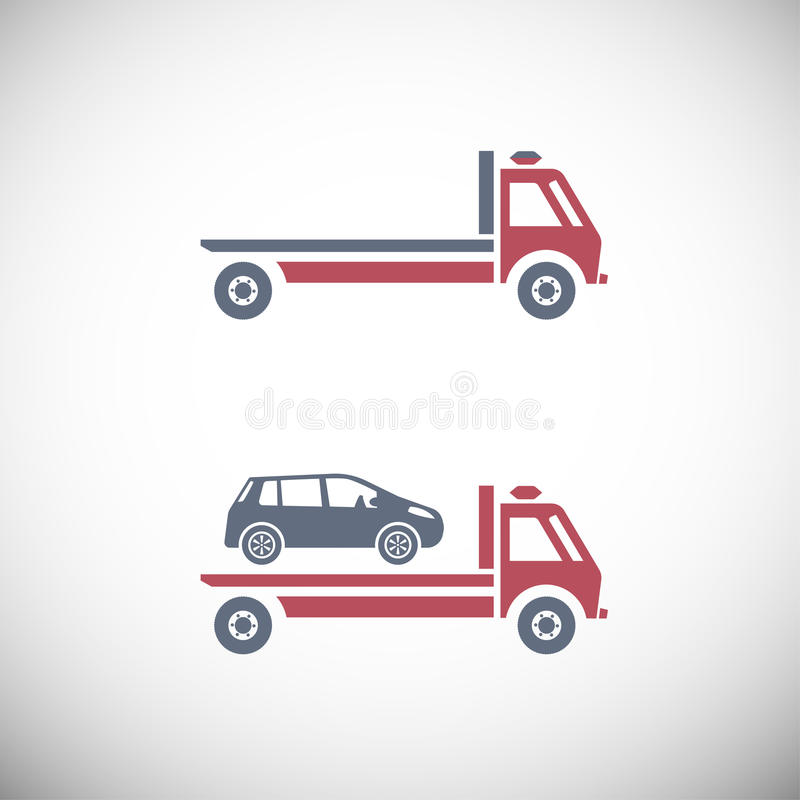 tow truck stock vector illustration of information accident 60681885