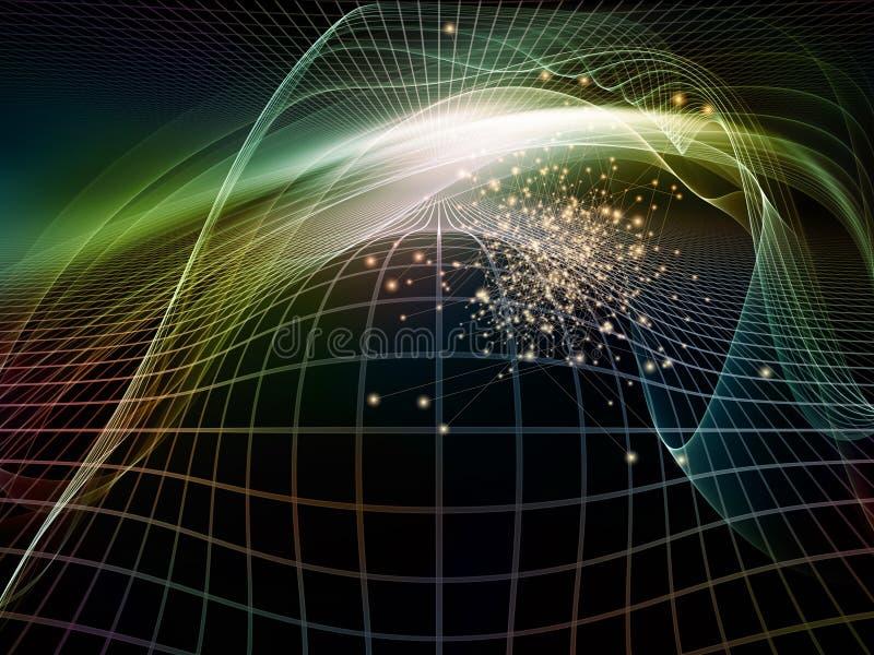 Download Toward Digital Fractal Realms Stock Image - Image: 34528427