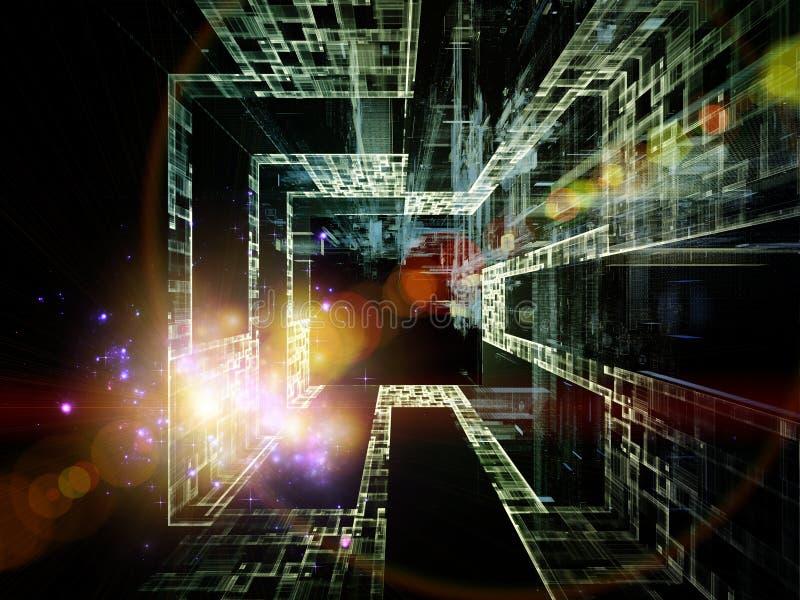 Toward Technology Stock Illustration  Illustration Of