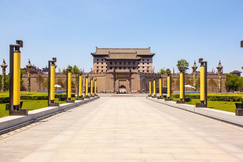 Towe du sud de porte dans Xian image libre de droits