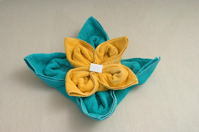 Towel arrange  flower