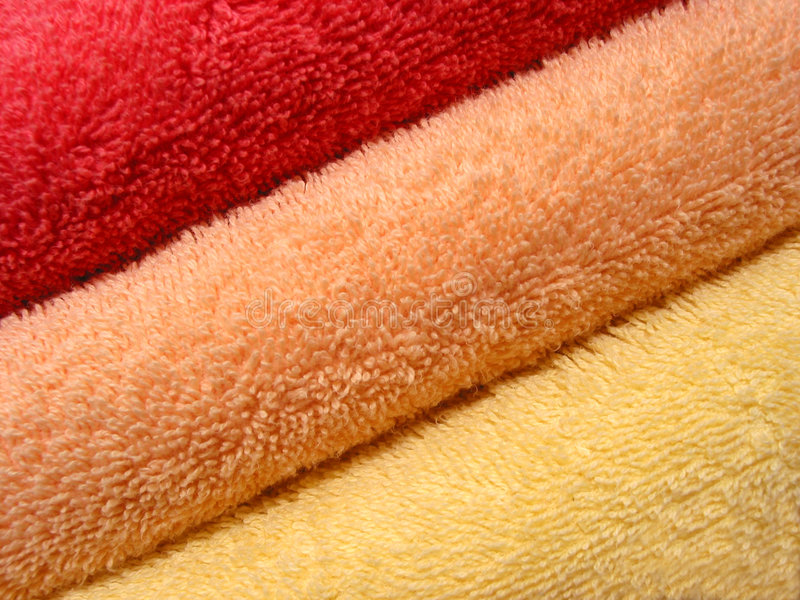 Download Towel stack 1 stock photo. Image of health, cosmetic, texture - 470260