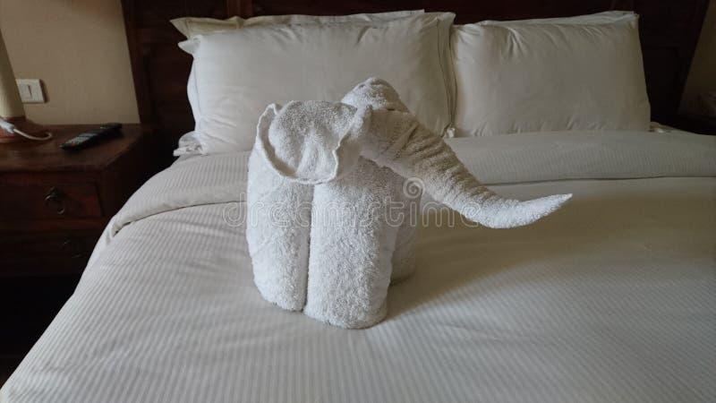 Towelart royalty free stock image
