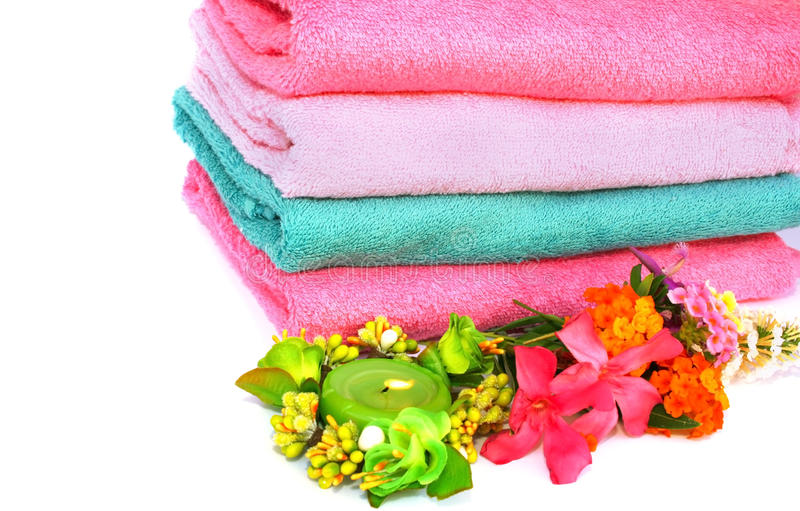 Download Towels stock image. Image of hygienic, abstract, pile - 14083425