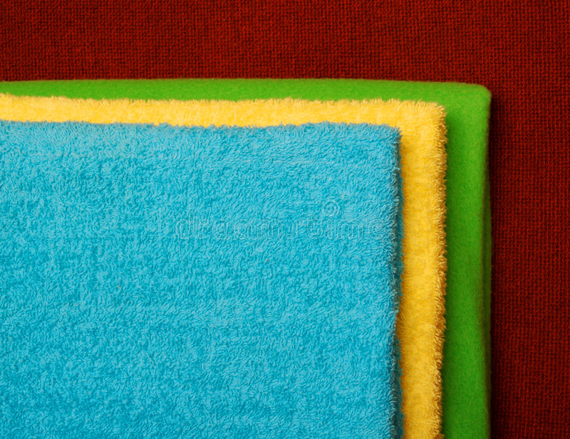 Download Towels Folded Stock Photo - Image: 2304780