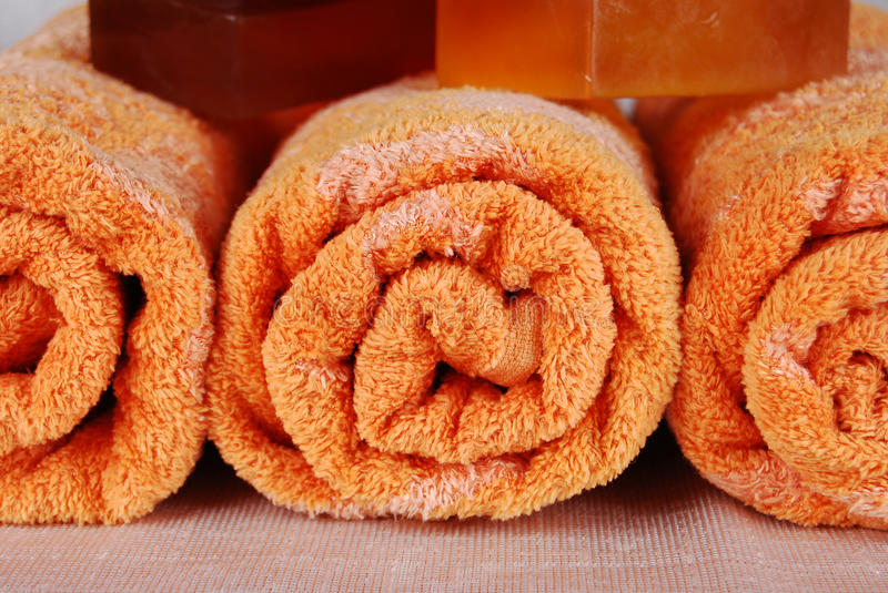 Download Towels and soaps stock photo. Image of bathroom, lifestyle - 10852228