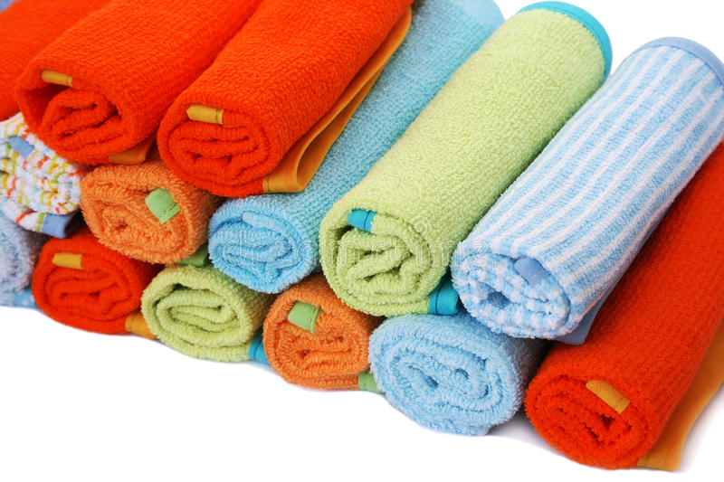 Download Towels stock image. Image of fluffy, absorb, fold, cloth - 31909789