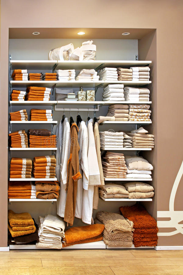 Download Towels storage stock image. Image of bathrobe, clean - 23809253