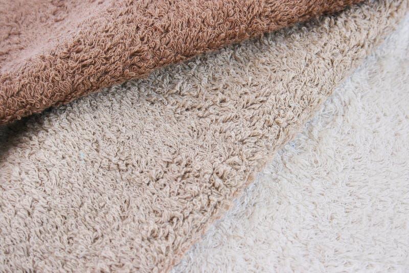 Towels texture stock photos