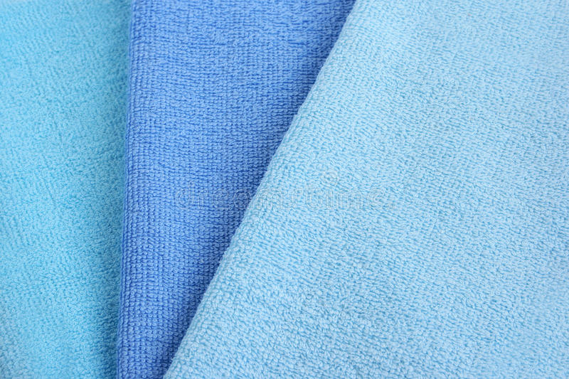 Towels Texture Stock Images