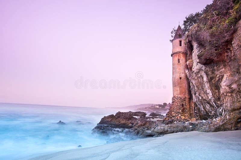 Download The tower stock image. Image of coast, orange, beach - 26744453