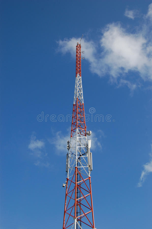 Download The tower stock photo. Image of cable, radiowaves, tower - 28670514
