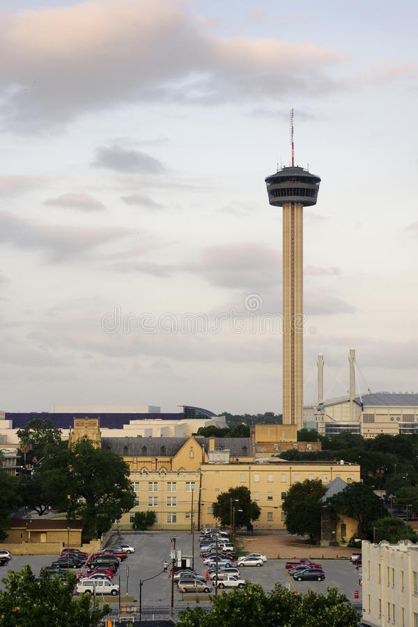 Download Tower of the Americas stock photo. Image of antonio, exterior - 14852810