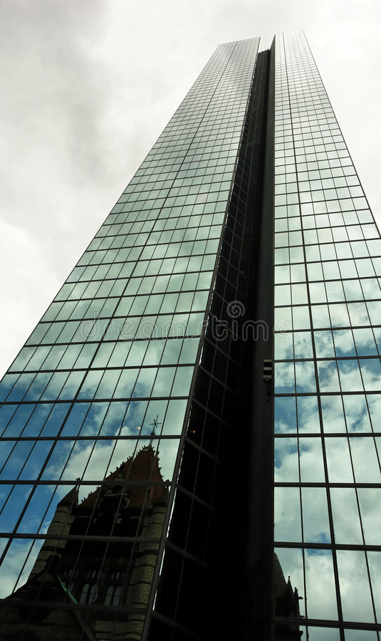 Download Tower of babel stock photo. Image of england, glass, cloud - 3136060