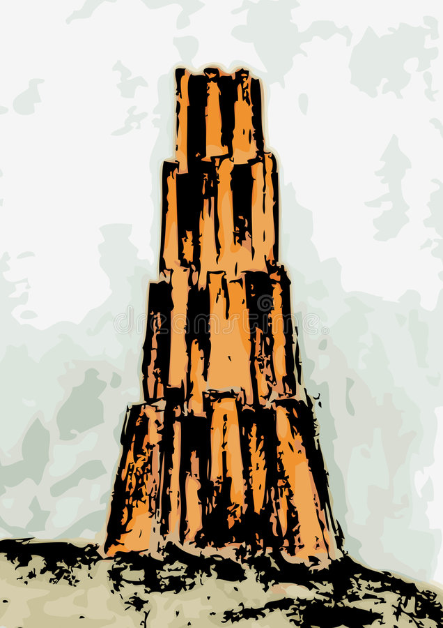 Tower of Babel (vector)