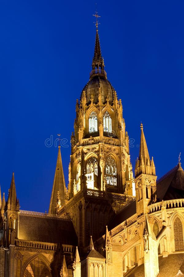 Download Tower Of Bayeux Cathedral Normandy France Royalty Free Stock Photography - Image: 14109407