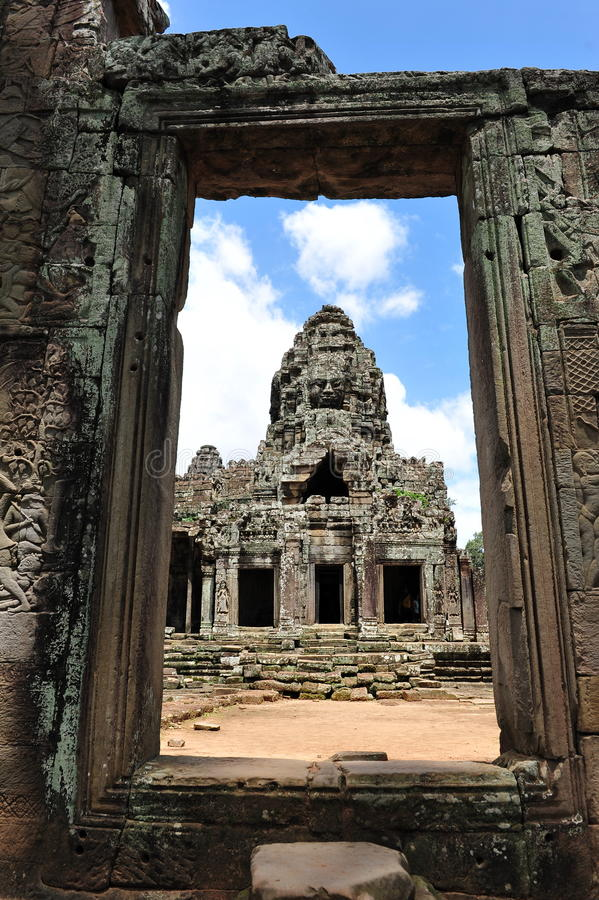 Download Tower Of Bayon Temple In Cambodia Stock Photo - Image: 26309960