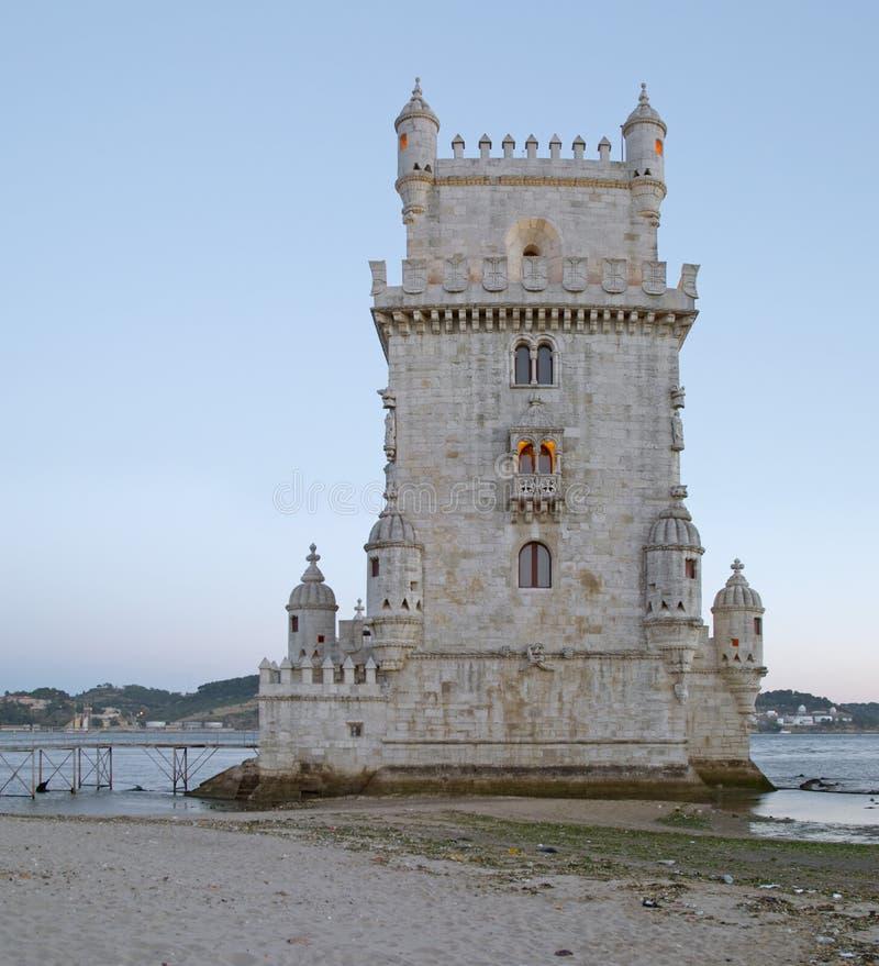 Tower of Belem, Lisbon royalty free stock photo